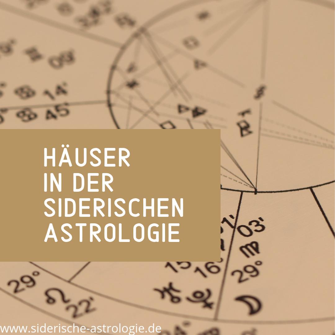Häusersysteme und die Bedeutung in der klassischen Astrologie 2 Häusersysteme und die Bedeutung in der klassischen Astrologie