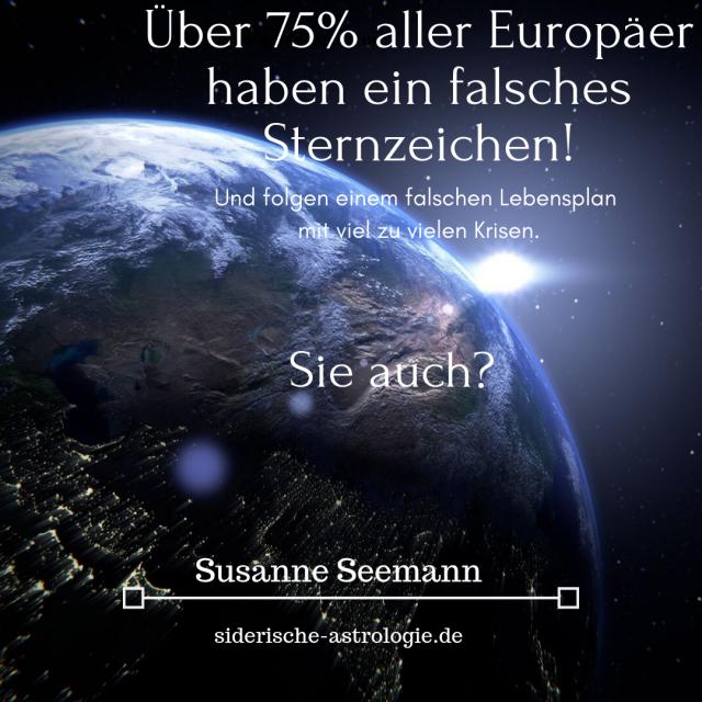 Siderische Astrologie Beratung in Pullach und München - Beratung mit dem siderischen Tierkreis