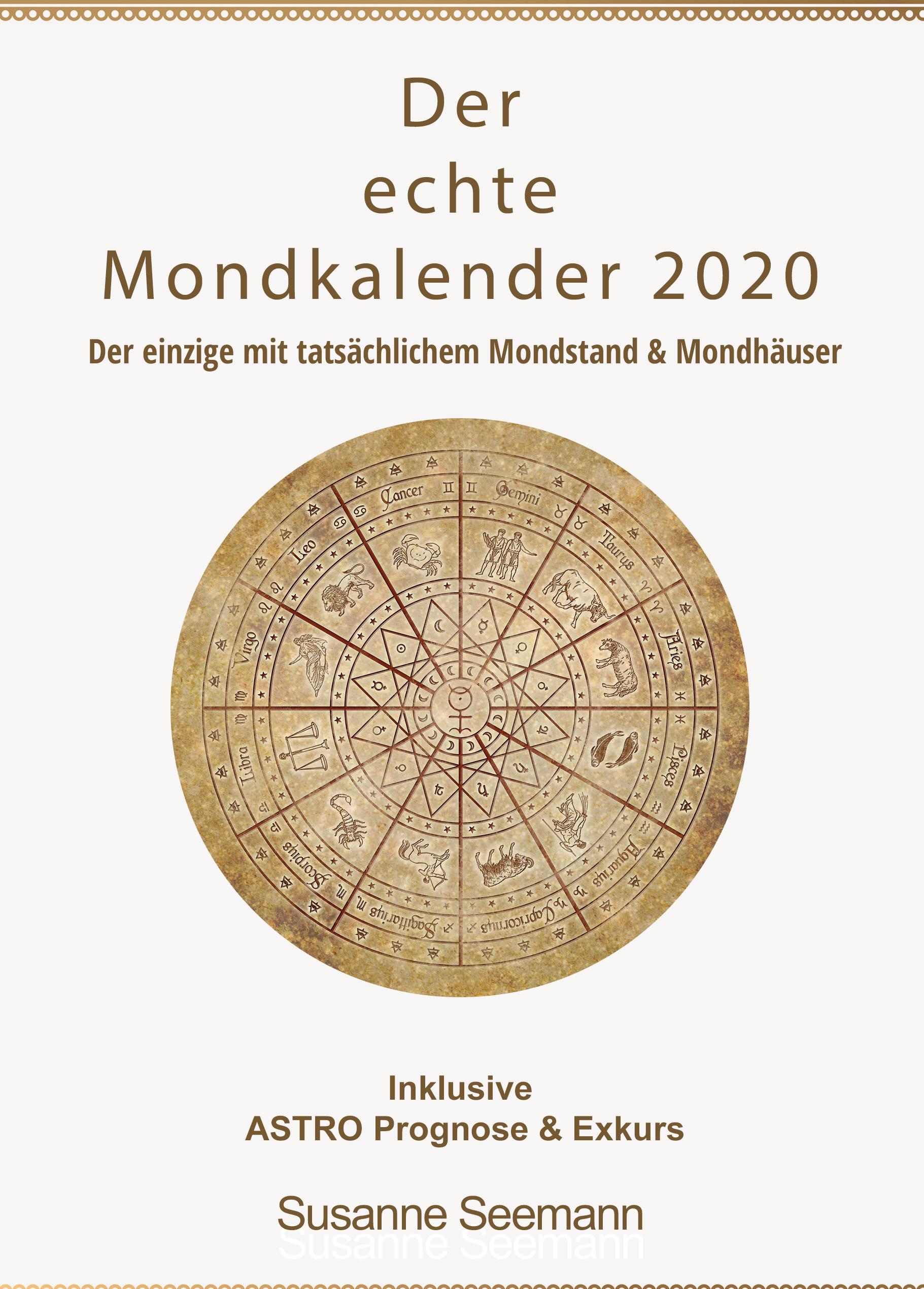 siderischer Mondkalender 2020