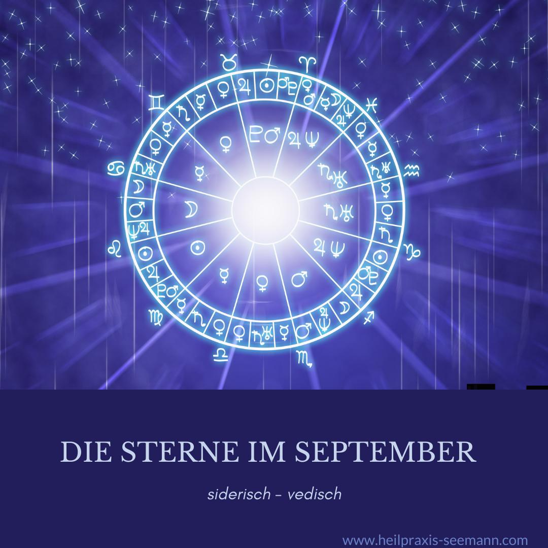 Die Sterne im September
