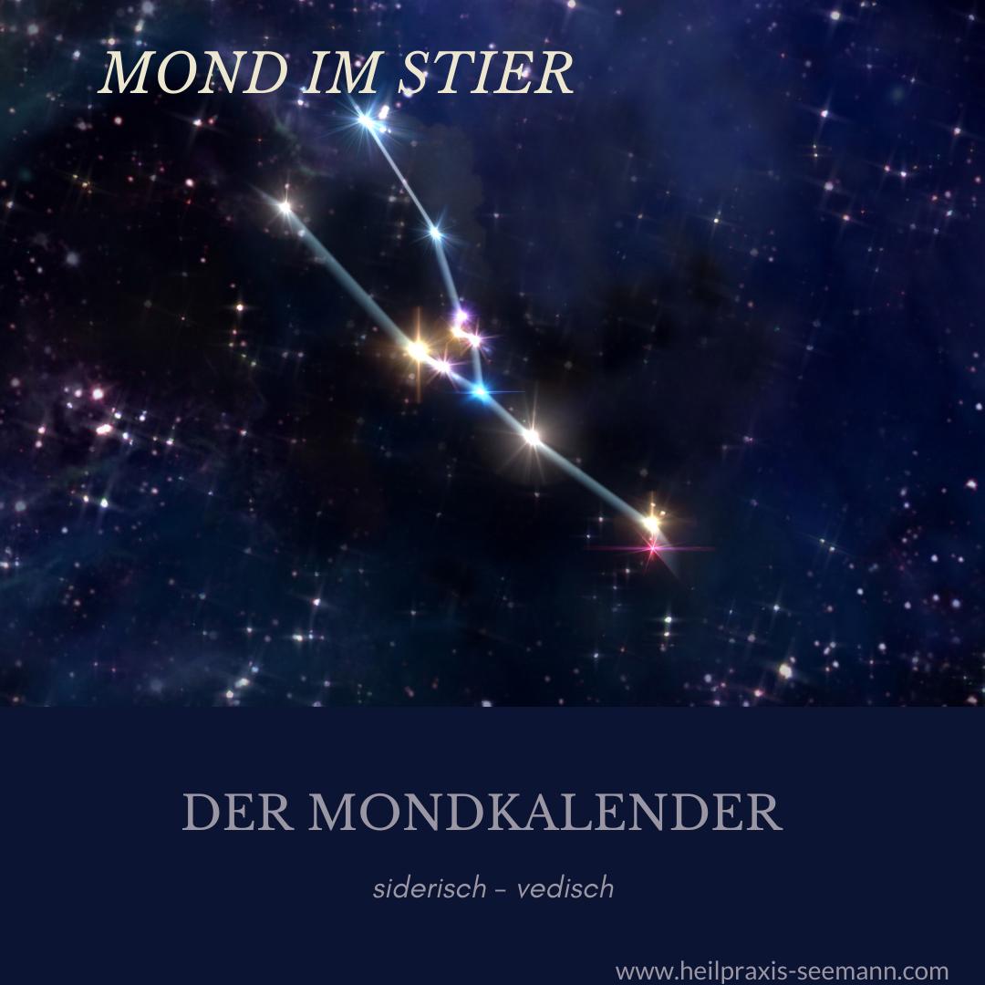 Mond im Stier Aldebaran