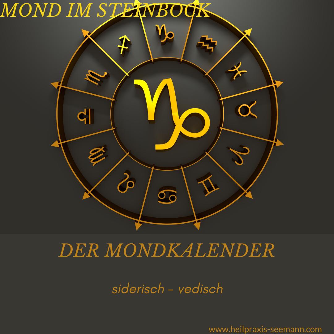 Heilpraxis Seemann - siderische Astrologie Mond im Steinbock (1)